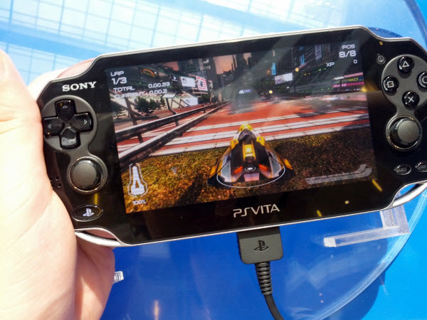 WipeOut on PlayStation Vita @ PlayStation Vita Malaysia Launch