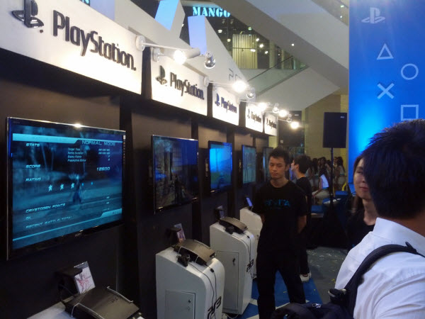 PlayStation 3 Showcase @ PlayStation Vita Malaysia Launch
