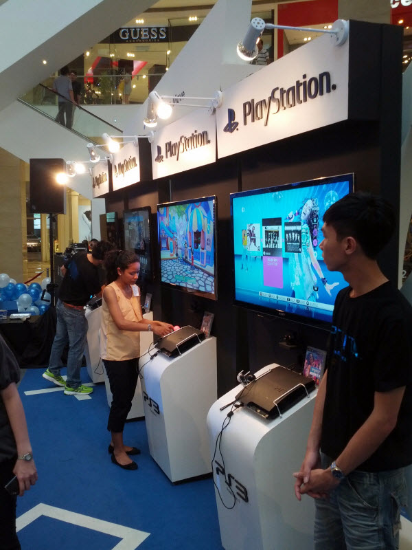 PlayStation Move Corner @ PlayStation Vita Malaysia Launch