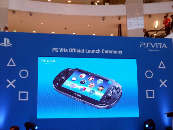 Big Screen @ PlayStation Vita Malaysia Launch