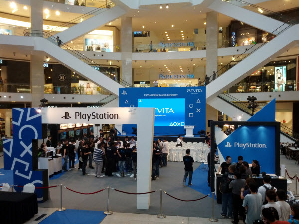PlayStation Vita Showcase Event at Pavilion @ PlayStation Vita Malaysia Launch