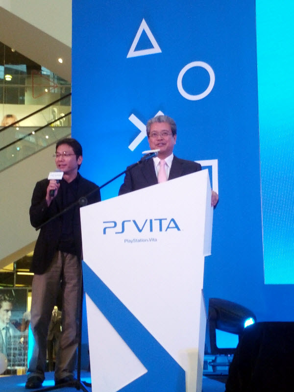 Tetsuhiko Yasuda, President of Sony Computer Entertainment Asia @ PlayStation Vita Malaysia Launch
