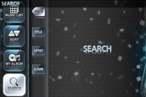 O2Jam U for iOS Search Function