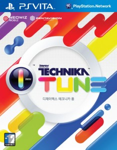DJMax Technika Tune PS Vita Cover