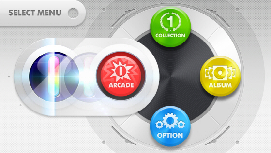 DJMax Technika Tune PS Vita Menu 2