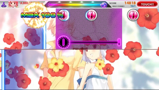 DJMax Technika Tune PS Vita Front and Rear Touch 1