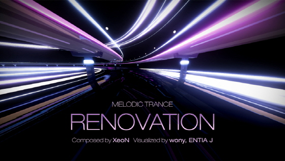 DJMax Technika Tune PS Vita: XeoN - Renovation